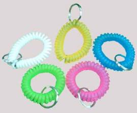 I - Clicker & Spiralarmband - Bild vergrößern